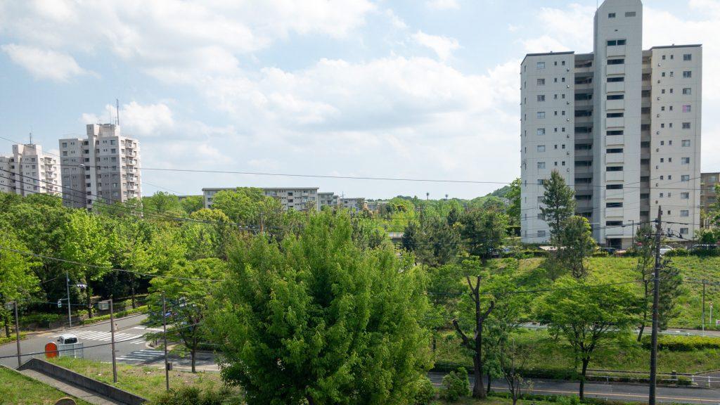 多摩ニュータウンの風景